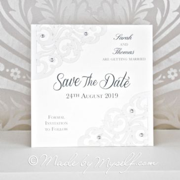 Lasercut Save The Date